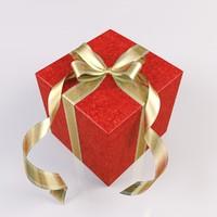 gift christmas 3d ma