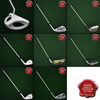 Golf Sticks Collection V5