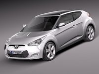 hyundai veloster 2012 3d 3ds