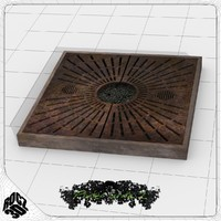 Tree Planter Grate Square 2