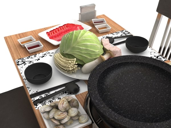 hot pot 3d max - Hot Pot... by jinlong
