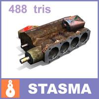 3ds max rusty scrap