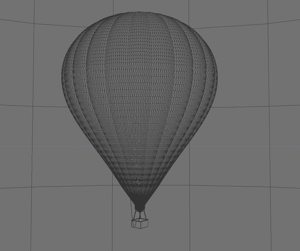 c4d hot air balloon - Hot Air Balloon... by GFX_Artist