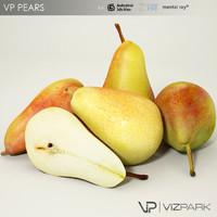 pears proxy 3d model