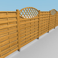 Wooden Fence Modules #2