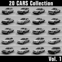 20 Cars Collections - Vol. 1