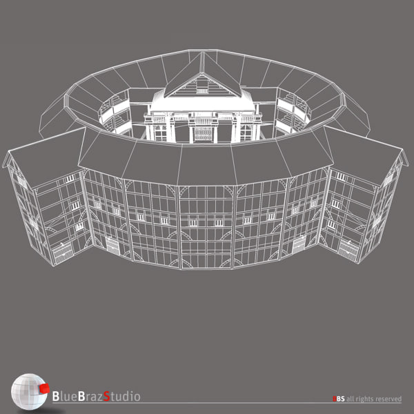 globe theatre 3ds - Globe Theatre... by BraZ