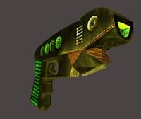 sci-fi blaster 3d 3ds