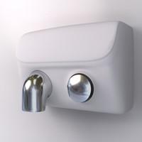 3d hand dryer