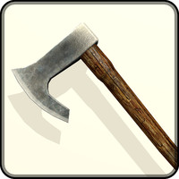 medieval battle axe 3ds free