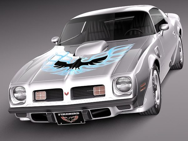 3d model pontiac firebird trans sport - Pontiac Firebird Trans Am 1975... by squir