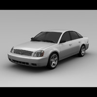 3d mercury montego 2007 model