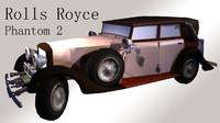 obj rolls royce phantom 2