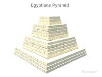 3d egyptian pyramids model