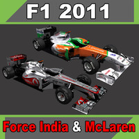 McLaren MP4-26 & Force India VJM-04
