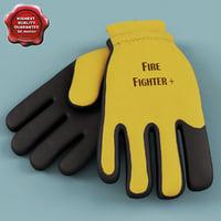 maya fireman gloves