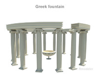 greeks fountains x