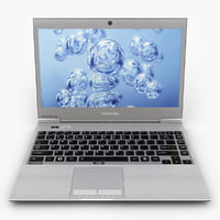 laptop toshiba z830 3d model