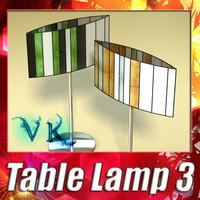 modern table lamp 03 max
