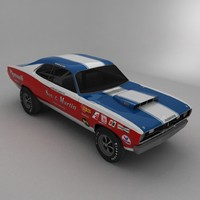 70 sox martin plymouth 3d model