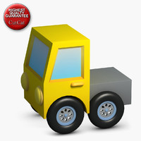 3d model construction icons 16 truck