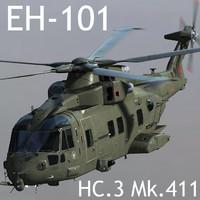 RAF EHI EH-101 Merlin HC.3 Mk.411