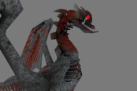 blender dragon flying