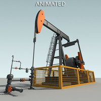 Animated PumpJack