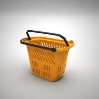 shop cart 3d model