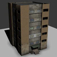 3d russian block tower