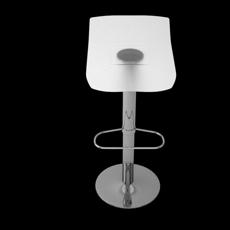 toco boconcept bar stool 3d max. Black Bedroom Furniture Sets. Home Design Ideas