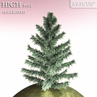 tree high-poly billboard 3d 3ds