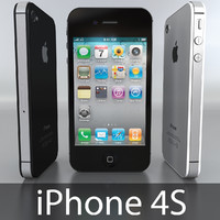 highpoly apple iphone 4s max