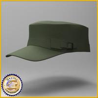 3d model cap army