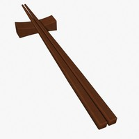 3ds max chopsticks