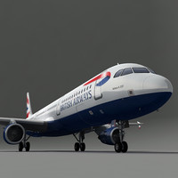 a321 plane british airways max