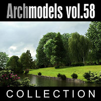 3d archmodels vol 58 trees