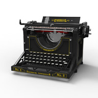 maya antique typewriter