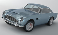 3d aston martin db5 1963