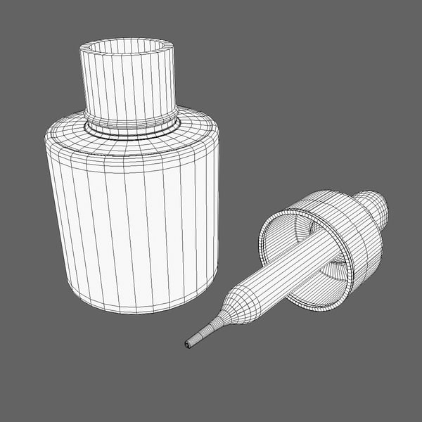 3d glass jar pipette - Glass Jar with Pipette... by Tschirner