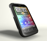 3d htc wildfire s model