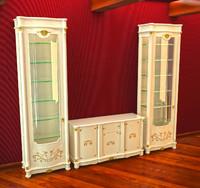 3d dresser case italia model