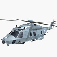 nhindustries helicopter royal norwegian 3ds