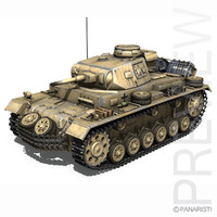 pzkpfw g german - 3d 3ds