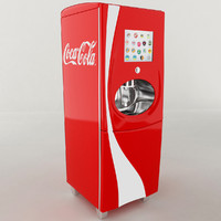 3d obj coca cola freestyle