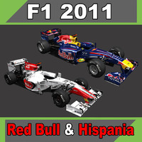 Red Bull RB7 & Hispania F111