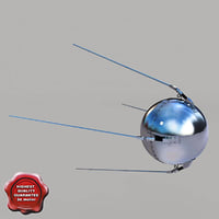 sputnik 1 3d max