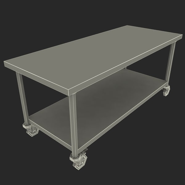 steel movable operating table 3d model steel movable operating table