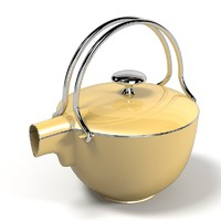 3d teapot kettle designer model