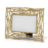 twig goldplated frame 3d 3ds